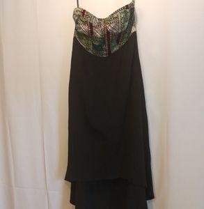 Billabong Strapless dress Like new!